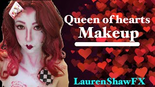Queen of hearts makeup