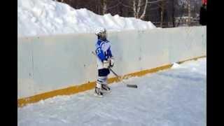 Детский хоккей. Нижнекамск. Берта Валеева. 2013-01-08