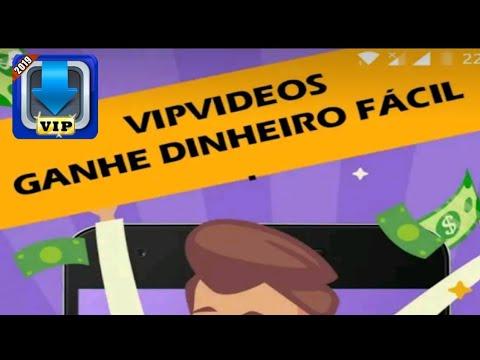 NOVO Aplicativo para Ganhar Dinheiro Assistindo Vídeos - VIP VÍDEOS