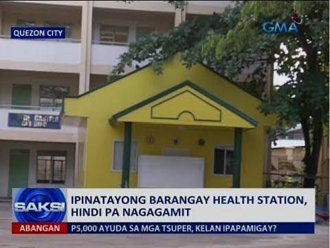 [GMA]  Saksi: P8.1-B Brgy. Health Station project, pinaiimbestigahan sa Ombudsman