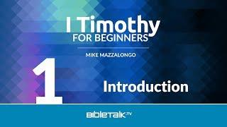 I Timothy Bible Study