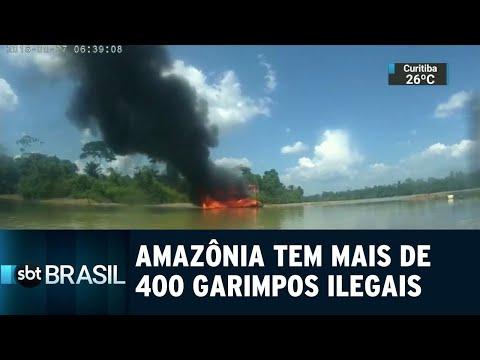 ONG aponta mais de 400 garimpos ilegais na Amazônia