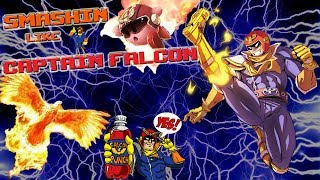 Smashin' Like Captain Falcon: Captain Falcon Smash Montage
