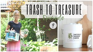 Trash to Treasure Project ~ Paint Can Reuse~ Drawer Idea ~ Glass Jar DIY ~ Paint Can Repurpose