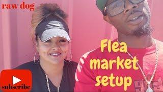 Flea Market Setup Ideas. How To Setup At The Flea Market, Selling Everything For 1$
