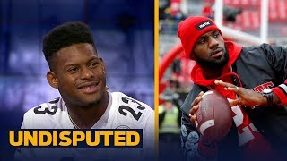 3af3395a9bb4 Steelers  Juju Smith Chuster Is Trying To Recruit Lebron James To Sign With  Pittsburgh Undisputed