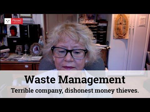 Waste Management - Terrible company, dishonest money thieves.