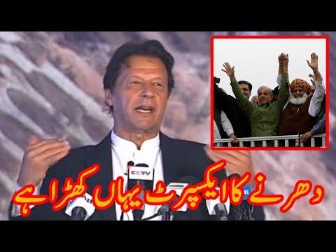 Imran Khan talks about Maulana Fazlur Rehman Azadi March | Plan B