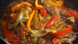 JAMAICAN BROWN STEW FISH RECIPE| | Step By Step