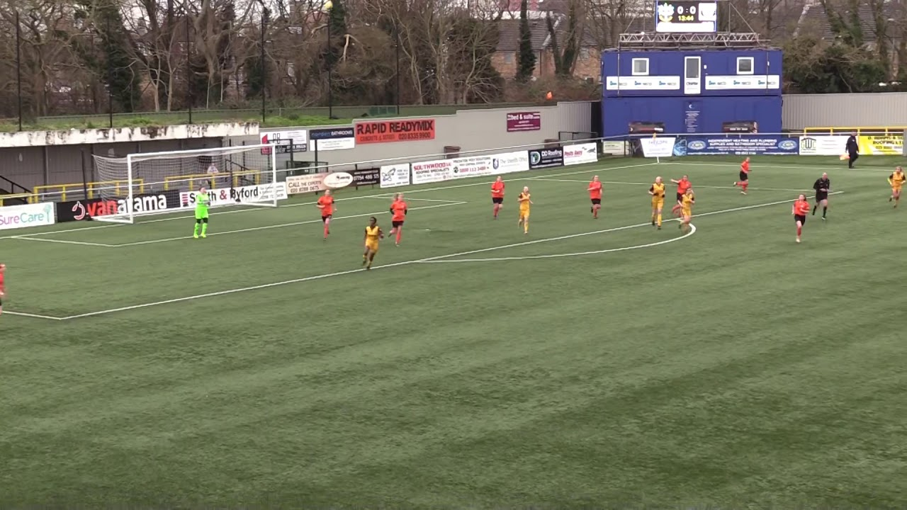 Highlights Sutton United Women v Walton Casuals 2nd February 2020