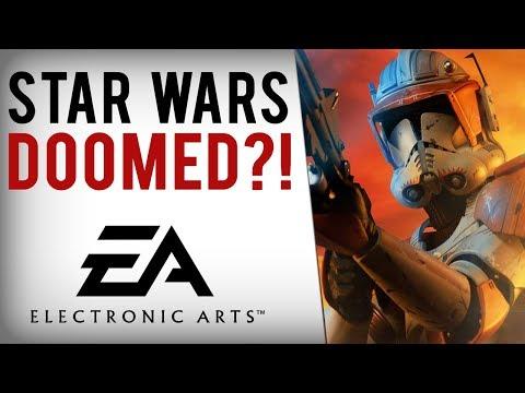 EA's Upcoming Star Wars Games DOOMED?!