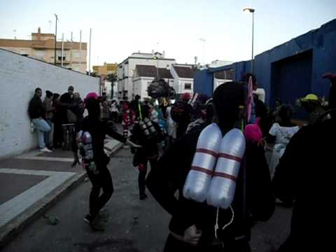 Carnaval 2011 - Los Buzos: Sambaaa!!