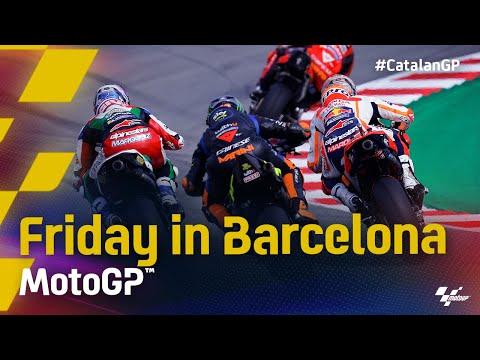 MotoGP 2021 カタルニアGP 金曜日ハイライト動画