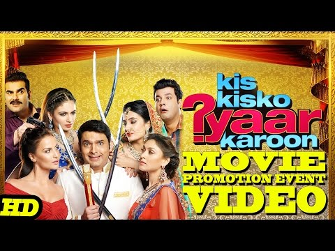 "Download ""Kis Kisko Pyaar Karoon"" Promotion Events Full Video 