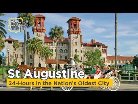 24 Hours in St Augustine Florida - U.S. Road Trip vlog Ep. #6