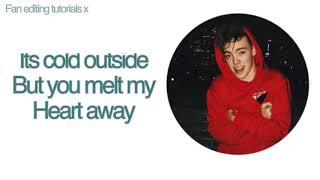 kiss you this christmas why don t we lyrics