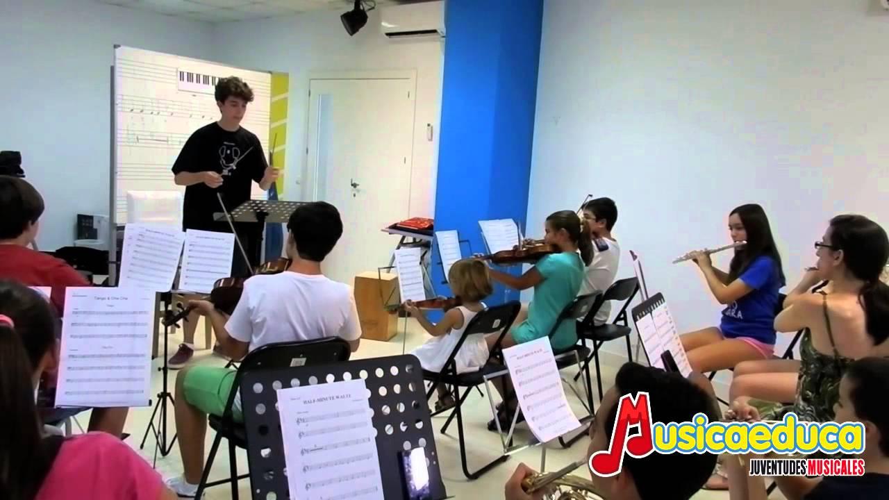 I Curso de técnica orquestal para orquetas infantiles y juveniles- Musicaeduca Juventudes Musicales