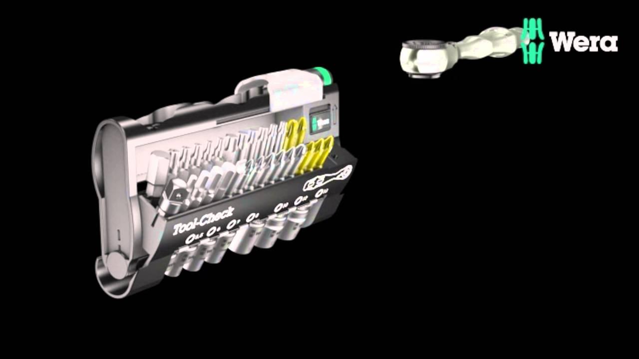 Видео: Комплект инструменти Tool-Check на Wera