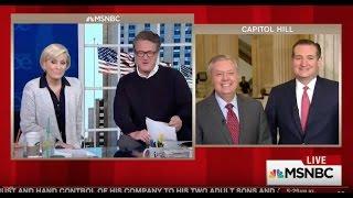 Sen. Ted Cruz on Morning Joe with Sen. Graham - Jan. 12, 2017