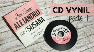 BODA: CD VINILO (parte1) - WEDDING: VINYL CD (part 1)