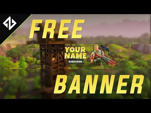 Free Fortnite Battle Royale Banner Template Download Photoshop Cc Cs6