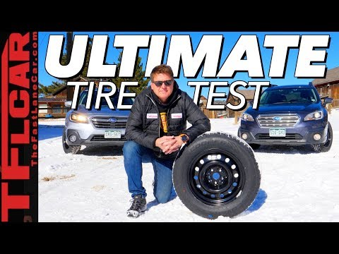 Which Snow Tire is Best? We Test Them On America's Steepest County Road!