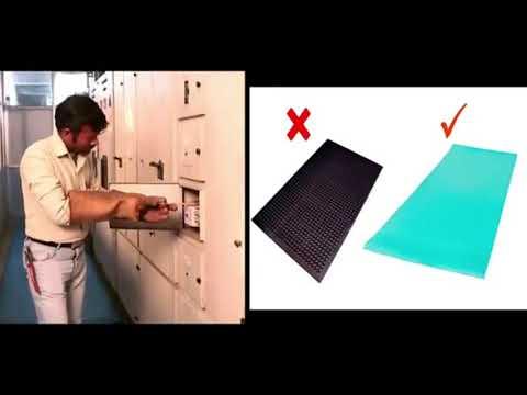 High Voltage Insulating Mats