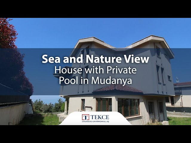 Peaceful Triplex House for Sale at Affordable Price in Bursa