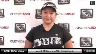 2021 Chloe Wong 4.21 GPA, Power Hitting 3rd Base Softball Skills Video - Firecrackers Miller/Baisdon