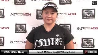 2021 Chloe Wong 4.21 GPA, Power Hitting 3rd Base Softball Skills Video - Firecrackers Miller/Baisdon