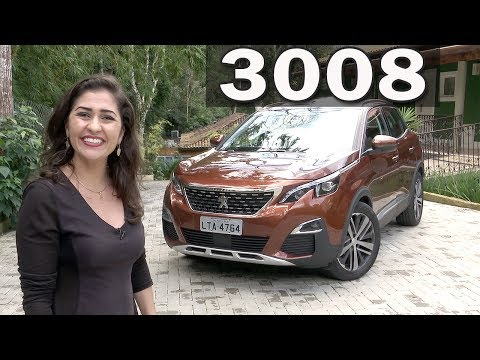 Novo Peugeot 3008 THP (1.6 Turbo) 2018