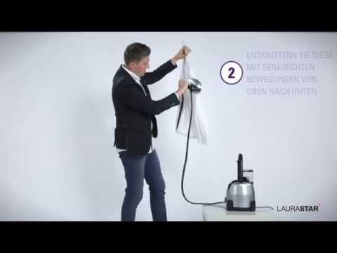 Laurastar - Ihre seidenbluse - Wie wird sie entknittert