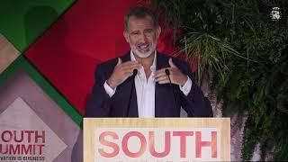 """Palabras de S.M. el Rey en la inauguración del """"South Summit 2021"""""""