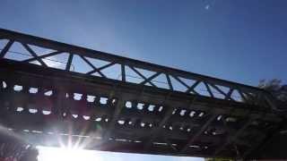 preview picture of video 'Pont ferroviaire du Chemin de fer de Vélu-Bertincourt à Saint-Quentin'