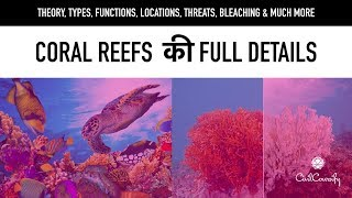 Everything About Coral Reefs || Types, Functions, Locations, Threats || Coral Bleaching