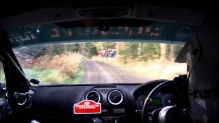 Wales Rally GB National 2014 Fiesta ST Engine Failure