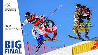 Highlights | Chapuis edges Detraz | Feldberg | Men's Ski Cross #2 | FIS Freestyle Skiing