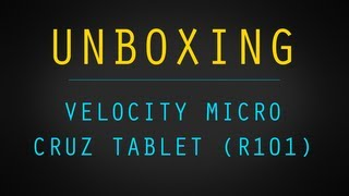 Unboxing the Velocity Micro Cruz Reader R101