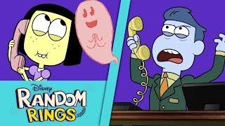 Ghost Friend 👻 | Random Rings | Big City Greens| Disney Channel