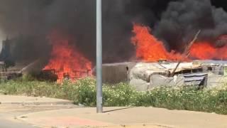 Incendio asentamiento Lepe 2