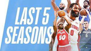 Bigs Show off DEEP Range | Last 5 Seasons