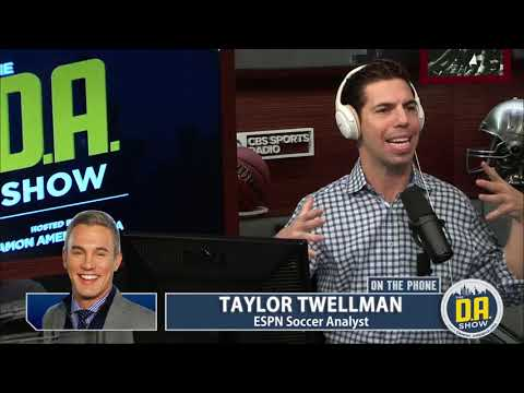 Soccer Analyst Taylor Twellman joins D.A.