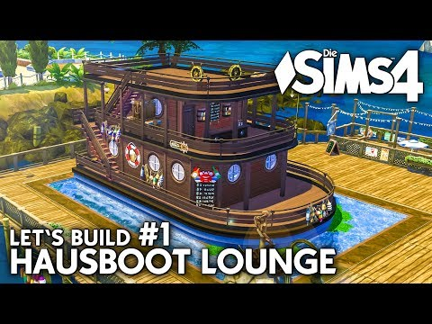 Hausboot Lounge #1 | Die Sims 4 Hunde & Katzen Let's Build
