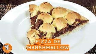 #58 - Como Fazer Pizza de Marshmallow
