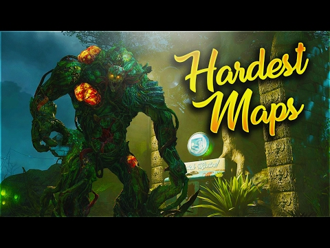 Top 10 Easiest Zombies Maps Ever Top 10 Zombie Maps Cod Waw Bo Bo2 ...