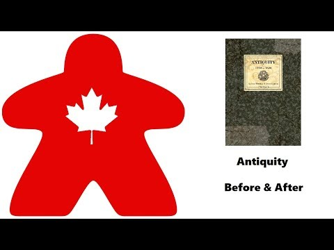 Meeple Leaf: Antiquity - Before & After