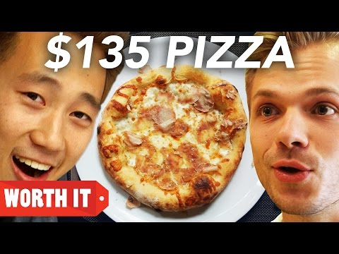 $5 Pizza Vs. $135 Pizza