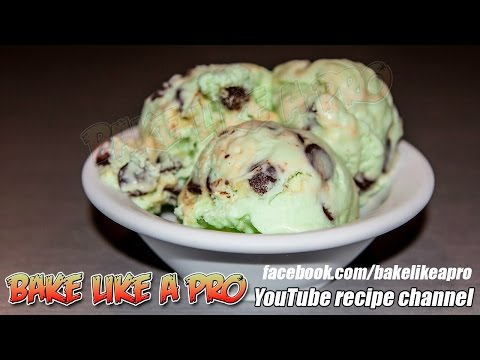 Video Easy Mint Chocolate Chip Ice Cream Recipe