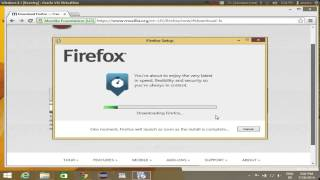 How to download and install Firefox on Windows 8 / Windows 8.1