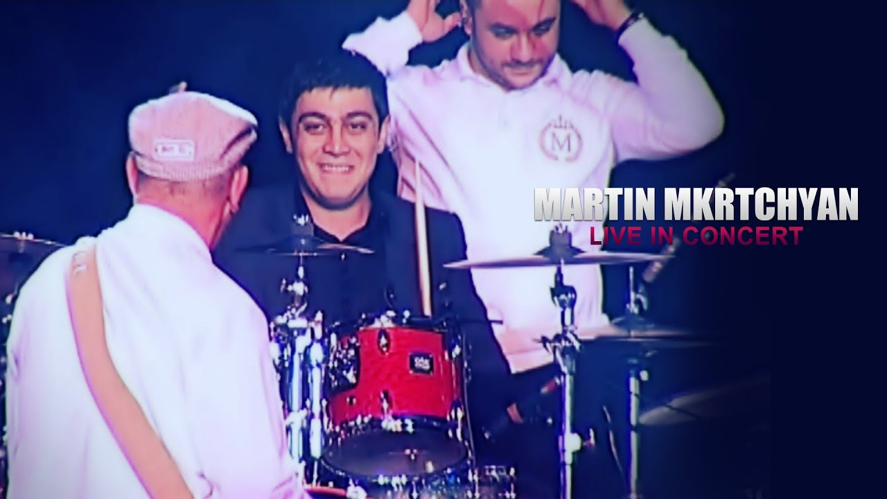 Martin Mkrtchyan plays on drums (Live in Concert)